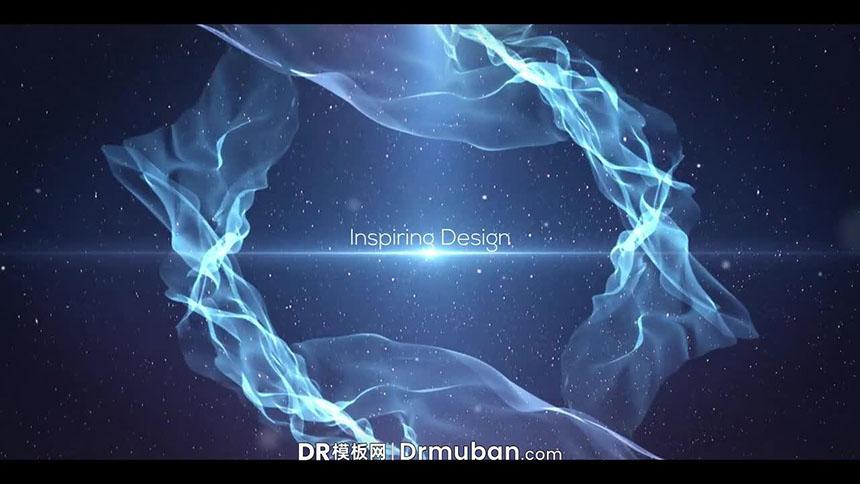 达芬奇标题模板 史诗级梦幻太空动态全屏标题DR模板下载