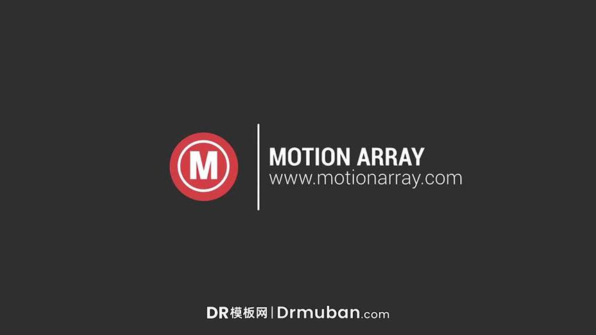 达芬奇开场模板 几何图形动态logo展示DR模板免费下载