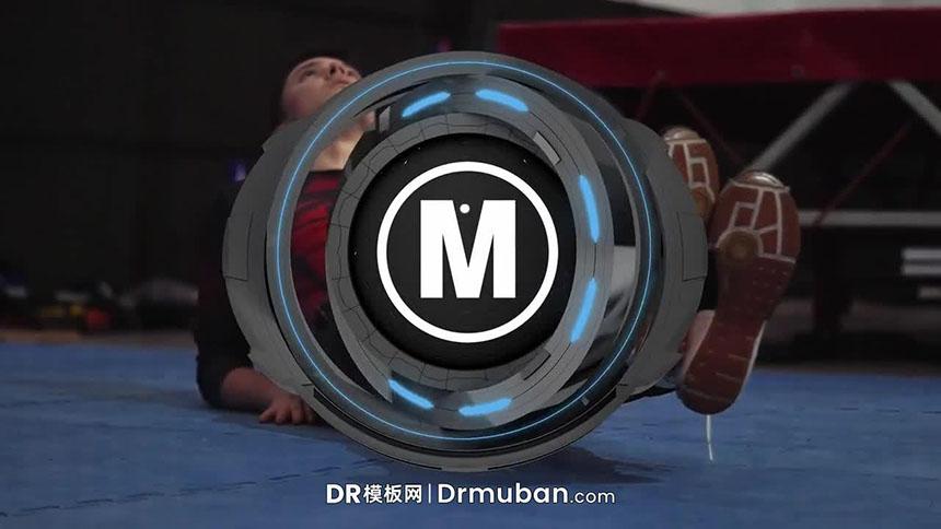 达芬奇模板 炫酷动态logo展示DR模板免费下载-DR模板网