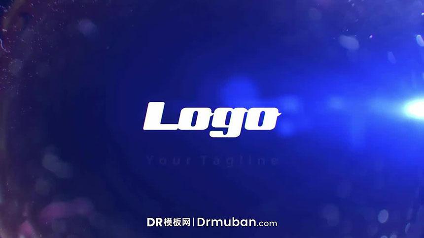 DR片头模板 炫酷3D跑车追赶警匪片达芬奇开场视频模板下载