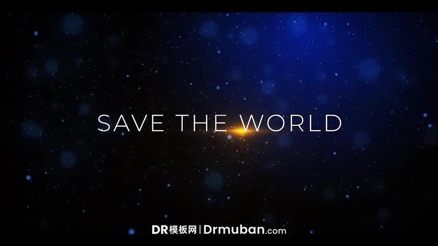 DR模板 电影预告片动态全屏标题达芬奇模板下载