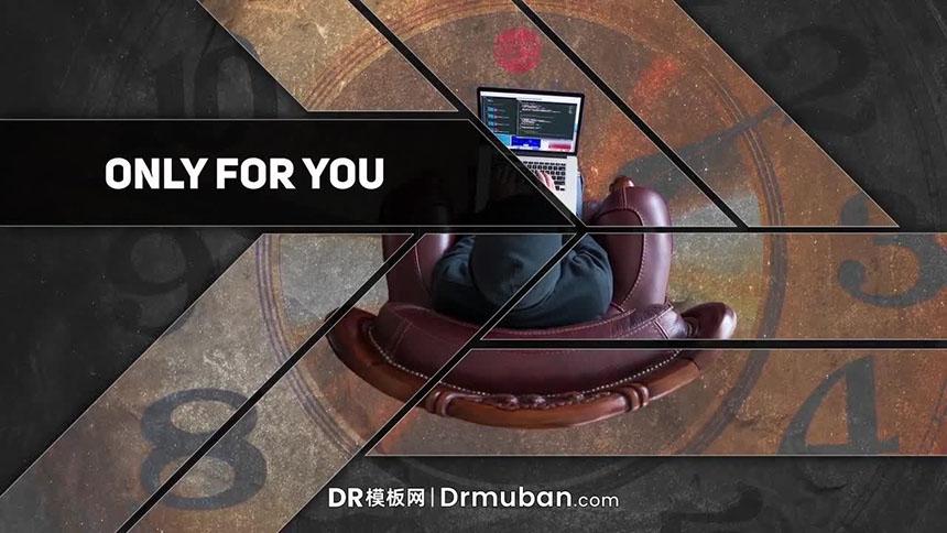 达芬奇短视频模板 现代创意幻灯片DR模板下载