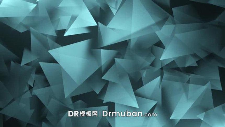 DR预设 达芬奇预设 达芬奇软件3D空间几何图形动态背景视频素材