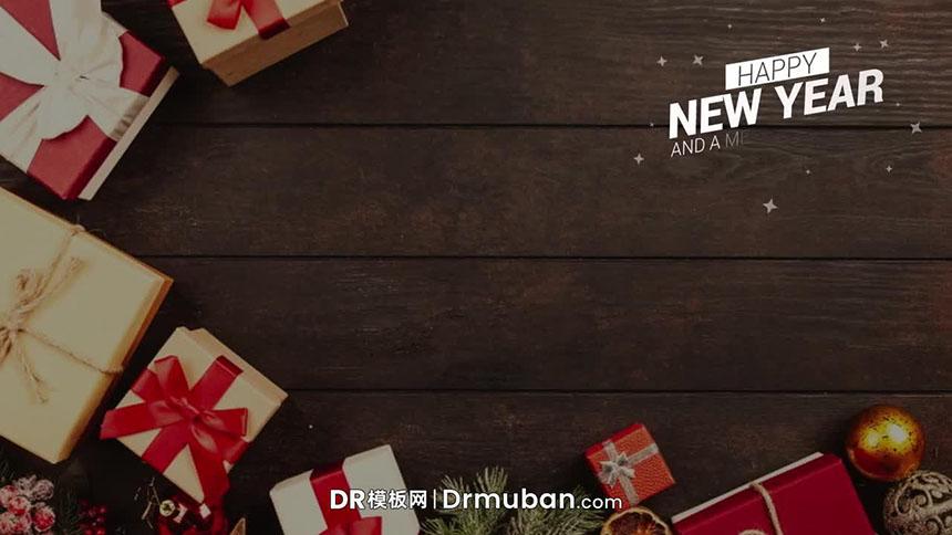 DR预设 圣诞节主题标题文字动画DR达芬奇字幕预设