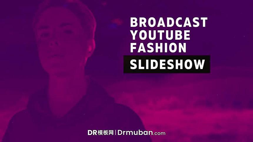 DR模板 超炫酷故障效果户外极限运动短视频达芬奇模板-DR模板网