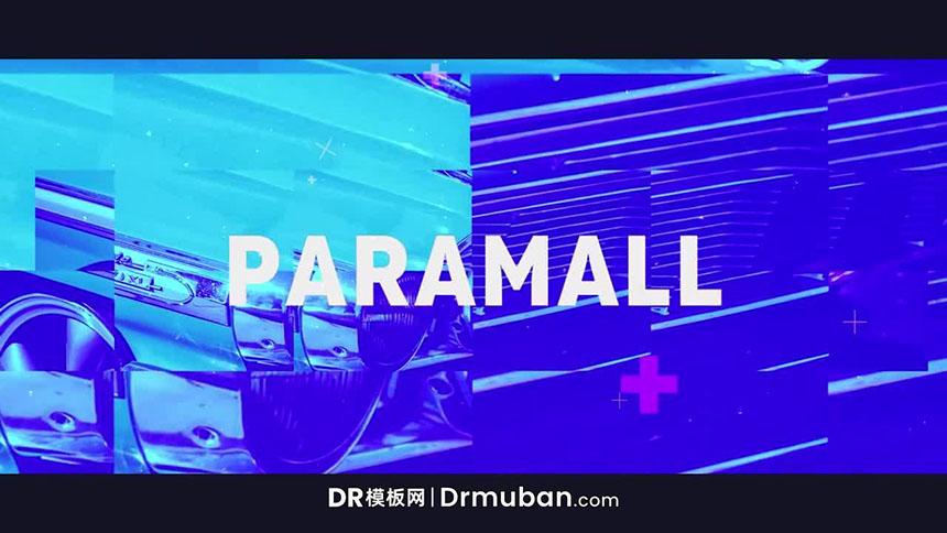 DR模板 现代炫酷城市形象宣传片达芬奇模板