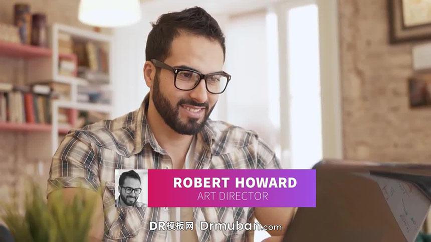达芬奇模板 创意户外采访活动DR模板下载-DR模板网