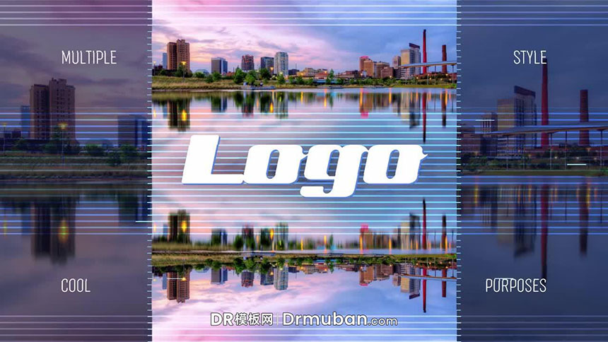DR模板 城市形象旅游景观宣传片达芬奇模板下载