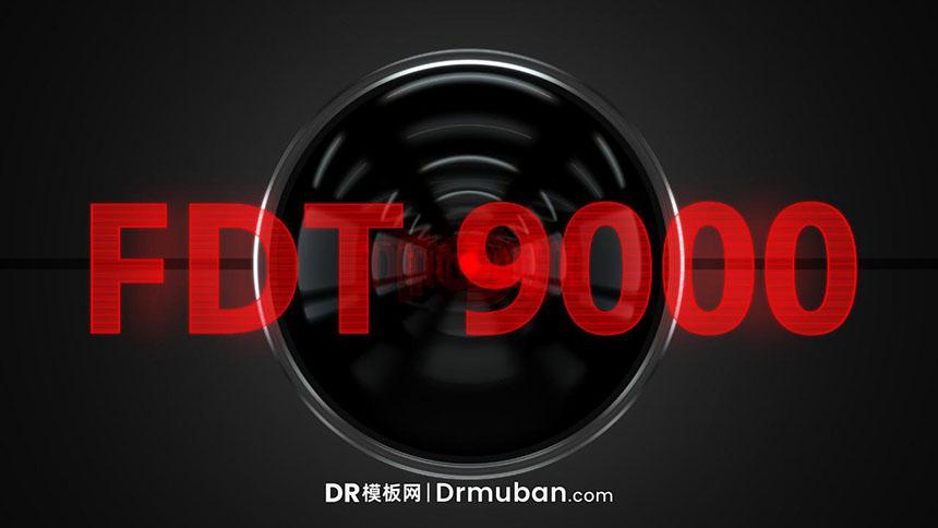 达芬奇预设 炫酷3D红外线投影特效logo展示DR预设下载