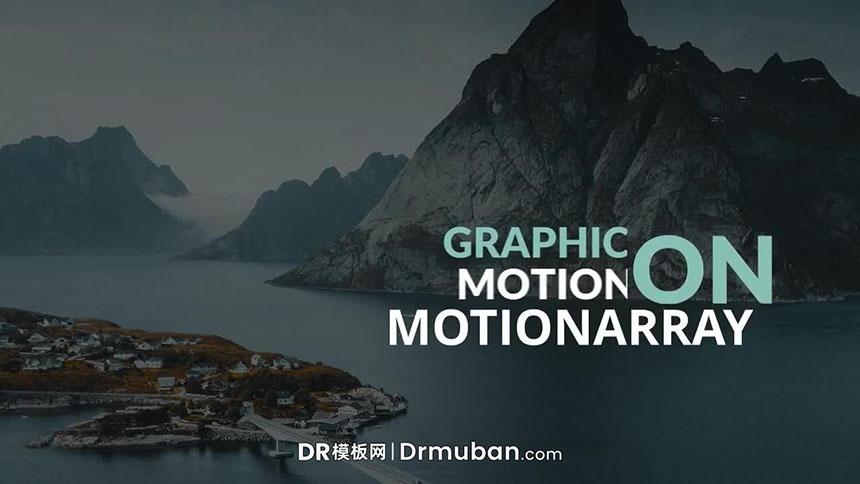DR标题模板 短视频通用加粗全屏大标题达芬奇模板下载-DR模板网