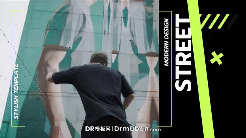 达芬奇模板 炫酷街头艺术家MV短视频DR模板下载-DR模板网