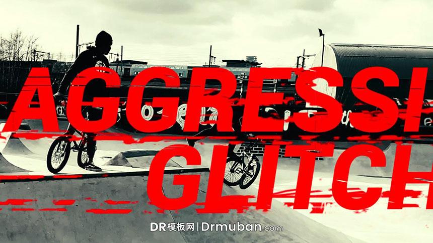 达芬奇预设 炫酷动感极限挑战vlog动态标题字幕DR预设下载