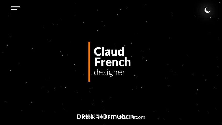 DR预设 9个简约时尚动态标题字幕达芬奇预设下载