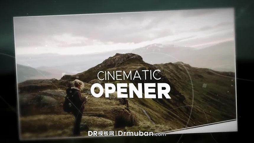 DR开场片头模板 电影级开场照片展示达芬奇模板下载