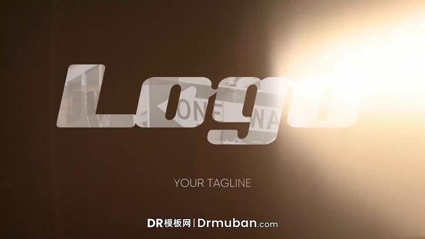 开场片头DR模板 快节奏照片展示动态logo展示达芬奇模板免费下载