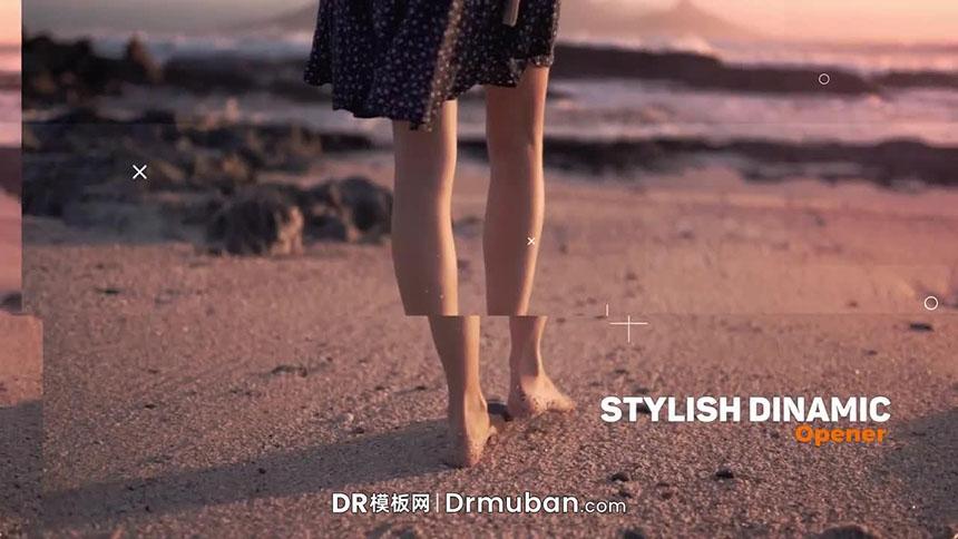 达芬奇模板 时尚现代春游vlog视频DR模板下载
