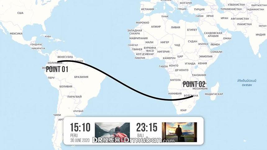 达芬奇模板 运动打卡地图路线视频dr模板下载