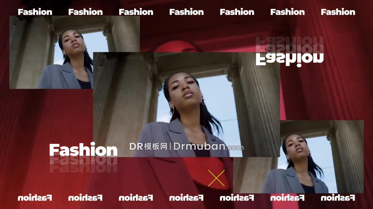 达芬奇模板 时尚多画面产品促销DR模板下载-DR模板网