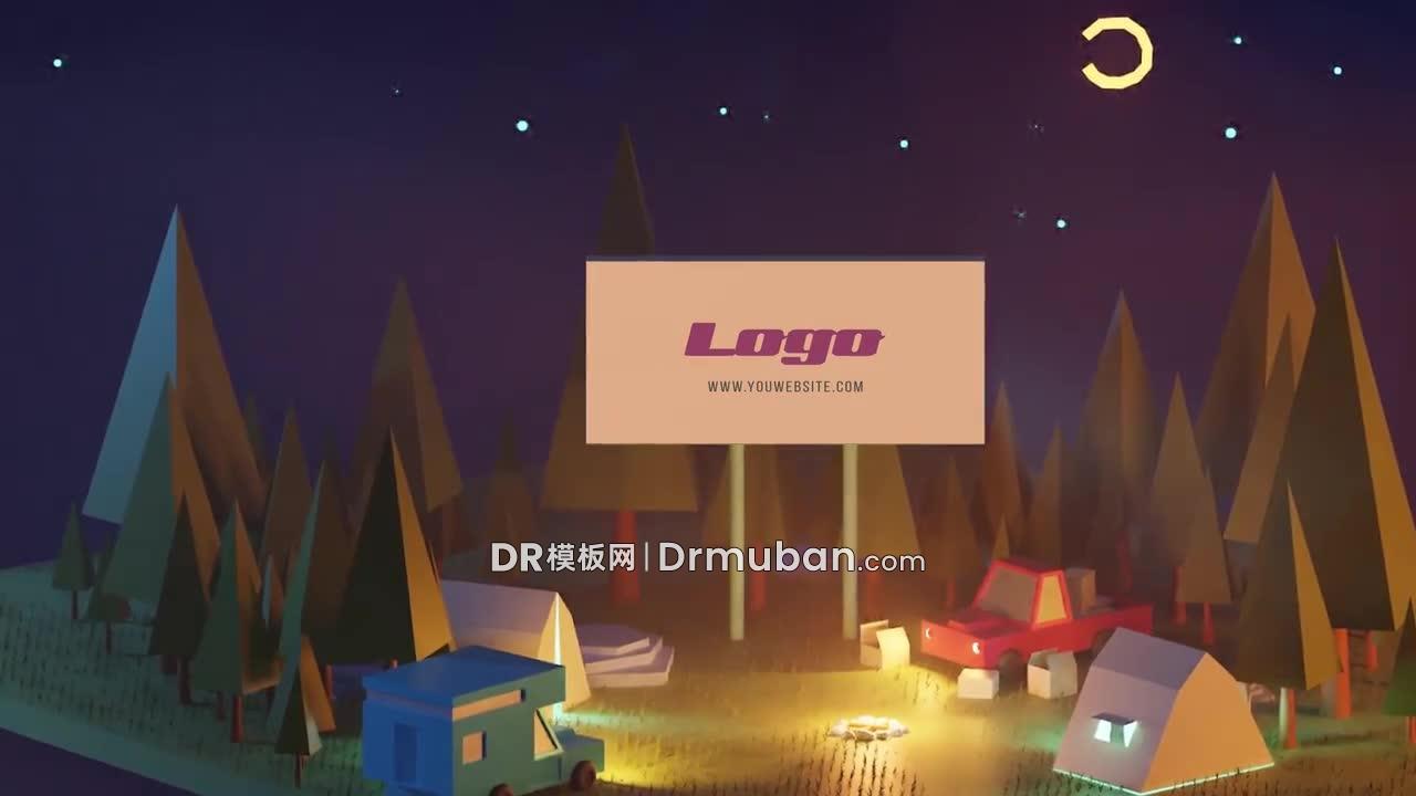 达芬奇模板 课后野营活动夏令营短视频DR模板下载