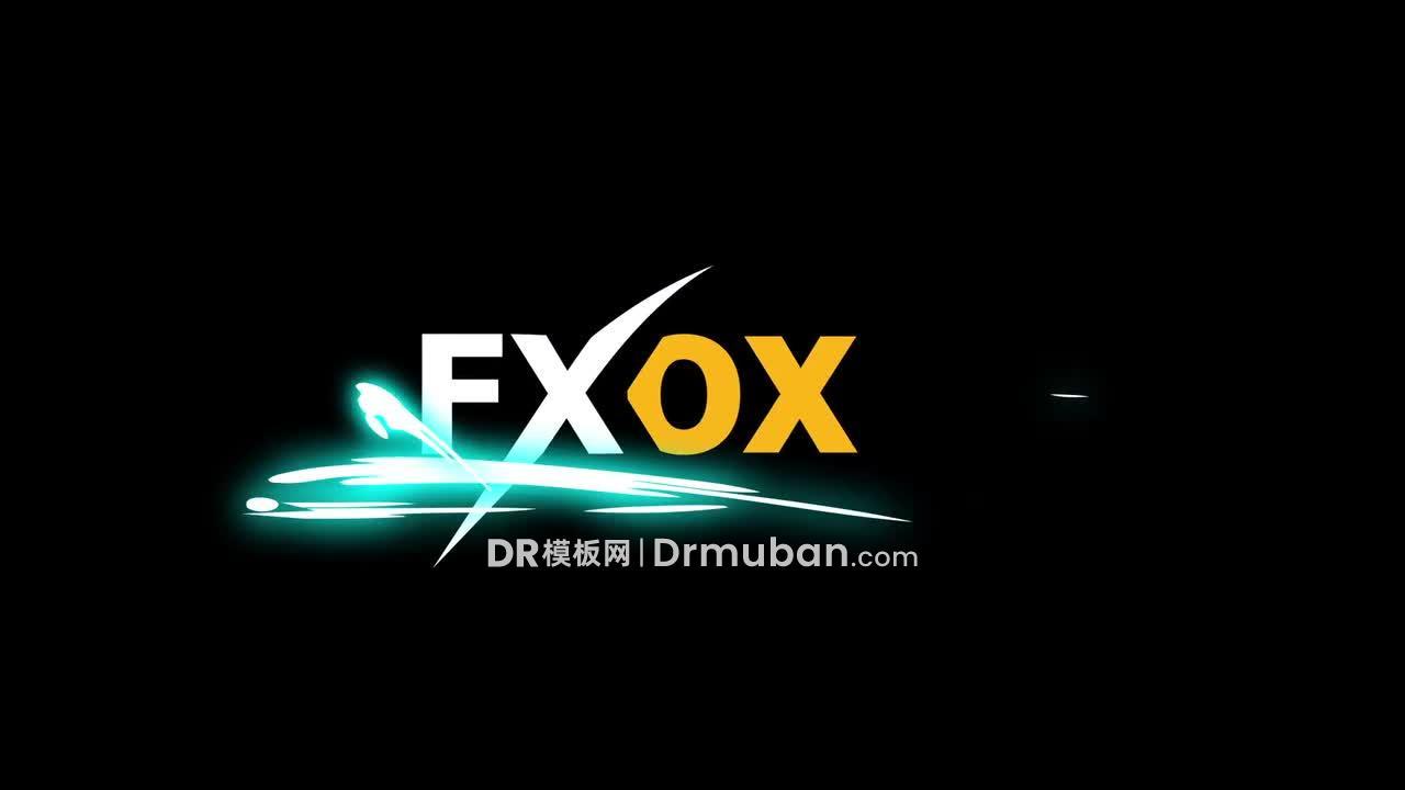 达芬奇模板 炫酷能量元素短视频特效DR模板下载