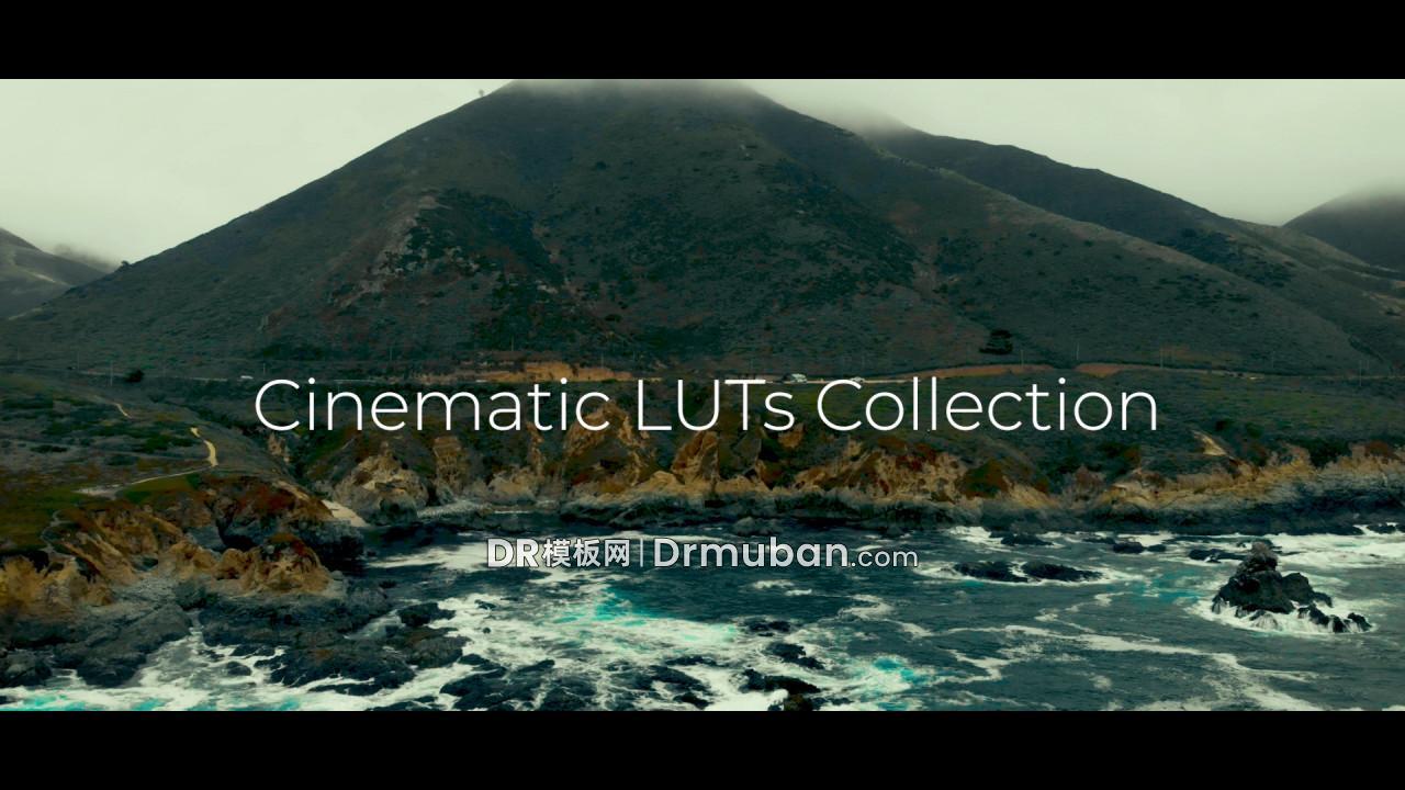 达芬奇调色模板 50个电影级LUTs视频调色DR模板下载